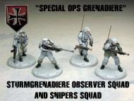 axis special ops grenadiers