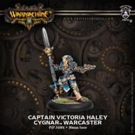captain victoria haley cygnar warcaster
