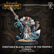 constance blaize knight of the prophet cygnar warcaster