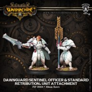 dawnguard sentinel officer and standard retribution unit attachment