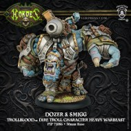 dozer and smigg trollblood dire troll character heavy warbeast