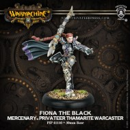 fiona the black mercenary privateer thamarite warcaster