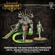 goreshade the bastard and deathwalker cryx warcaster and character solo