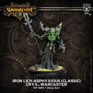 iron lich asphyxious (classic) cryx warcaster