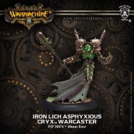 iron lich asphyxious cryx warcaster