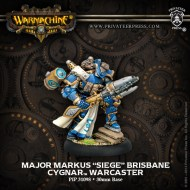 major markus siege brisbane cygnar warcaster
